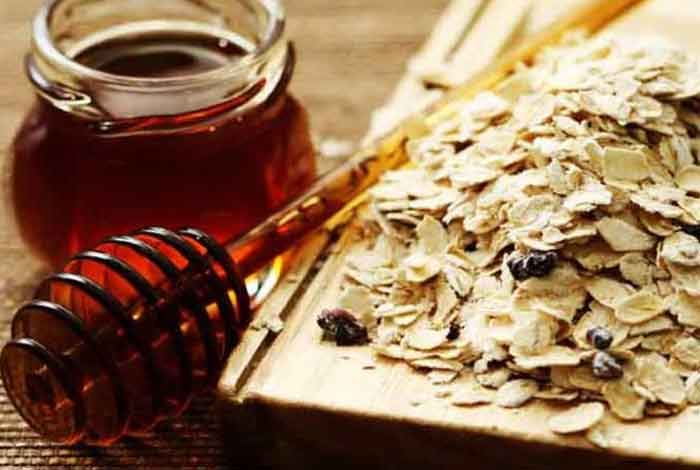 honey and oatmeal packoil