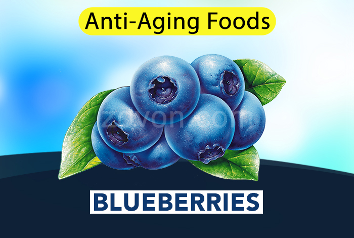 blueberries to delay aging