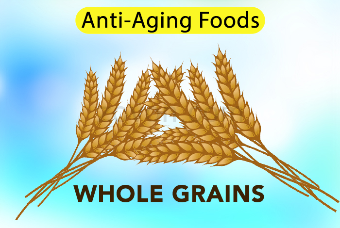 whole grains to delay aging