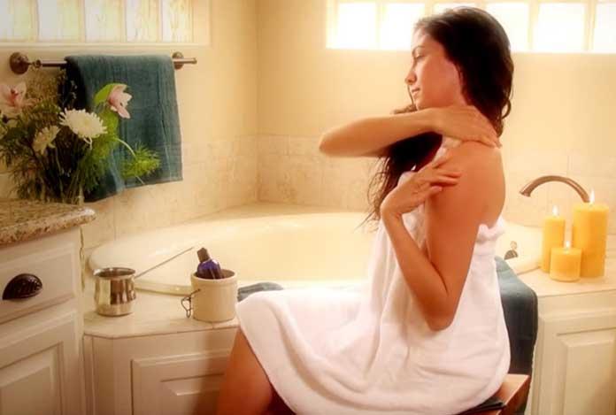 Practice Abhyanga or Self Oil Massage