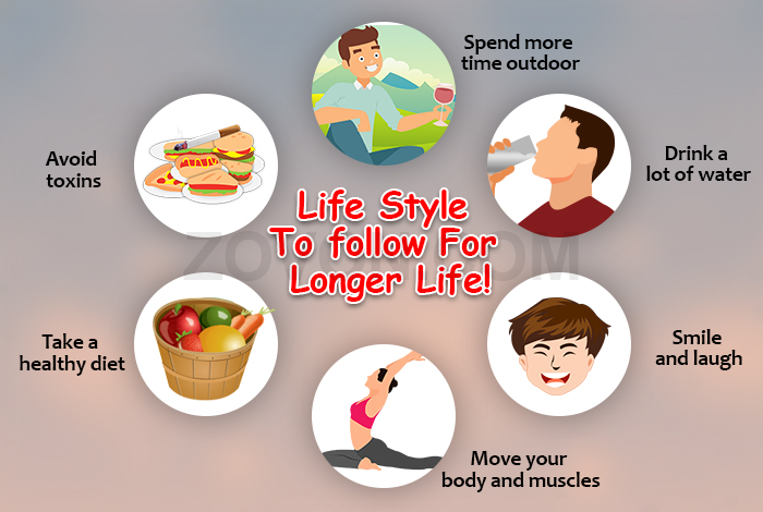 lifestyle habits to delay aging