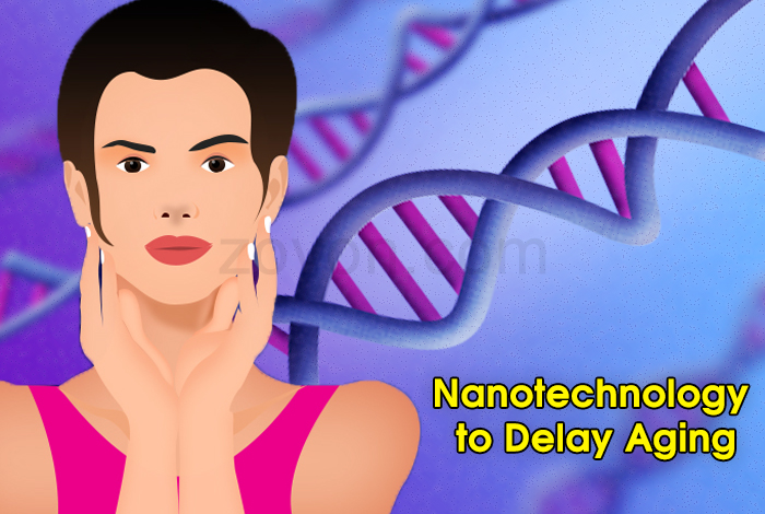 nanotechnology to delay aging