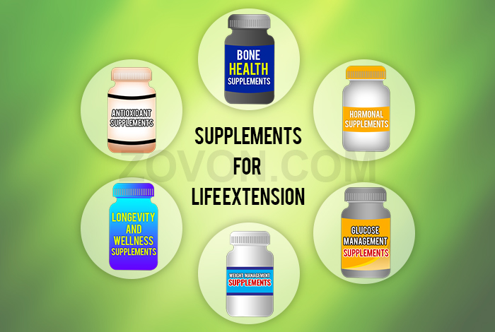 supplements for life extension