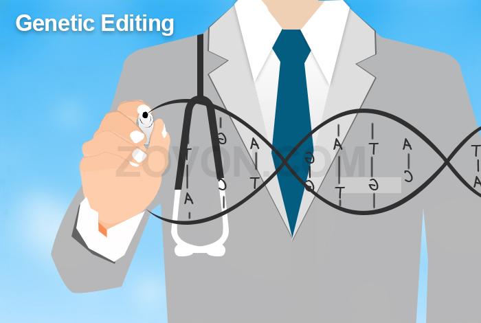 genetic editing in anti aging
