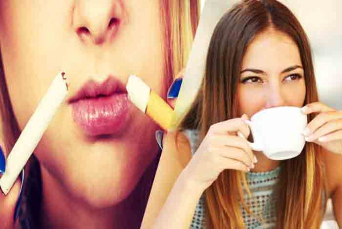 benefits of coffee only for never smokers