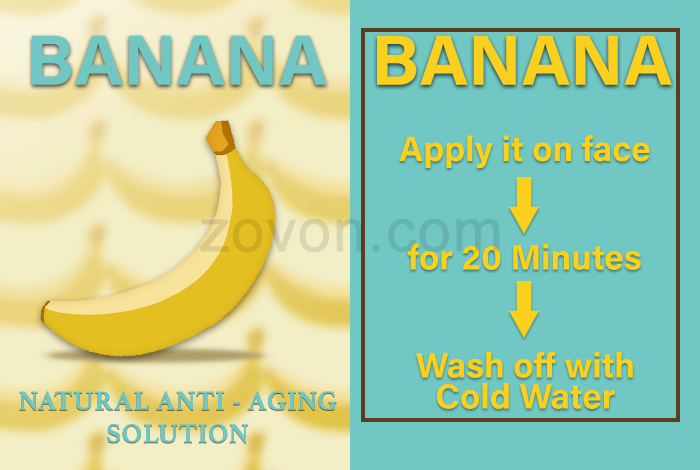 banana for anti aging
