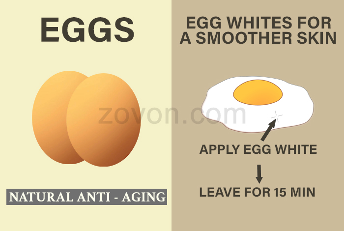 egg white for anti aging
