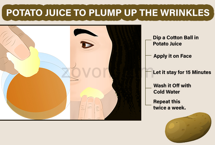 potato juice for anti aging