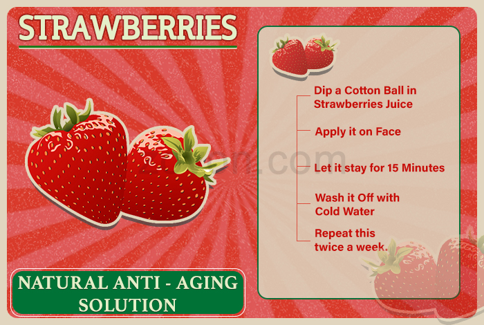 strawberries for anti aging