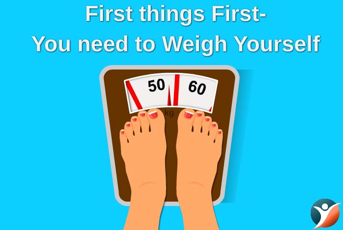 being a diabetic, keep track of your weight