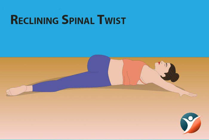 reclining spinal twist for managing diabetes