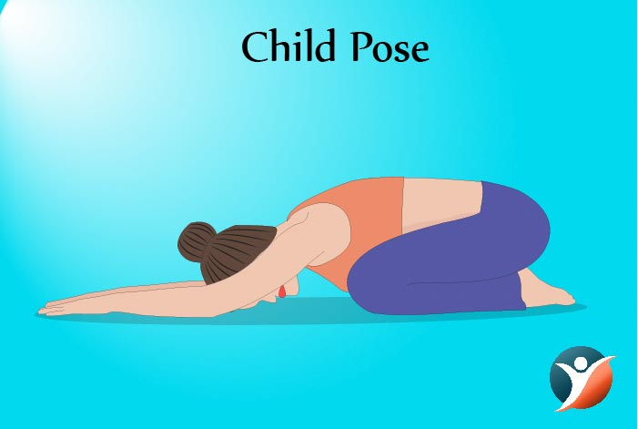 child pose for diabetes