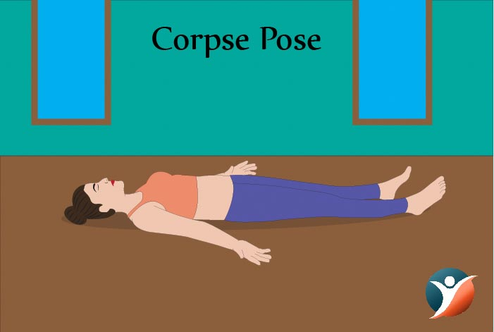 corpse pose for diabetes