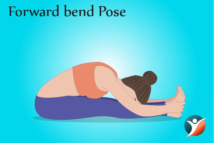 forward bend pose for diabetes