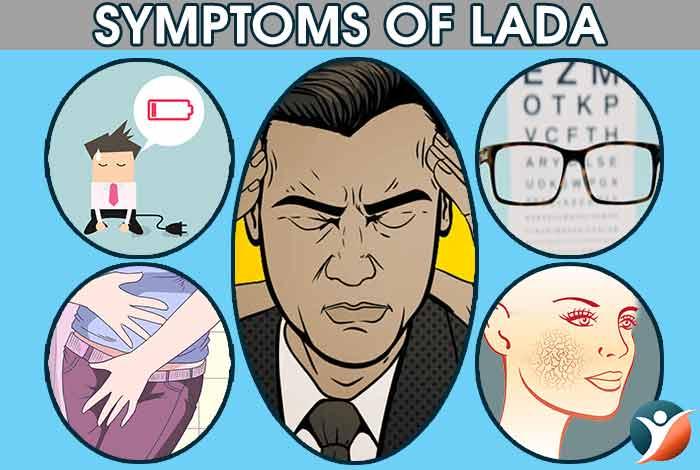 symptoms of LADA