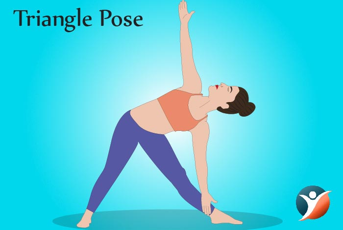 triangle pose for diabetes