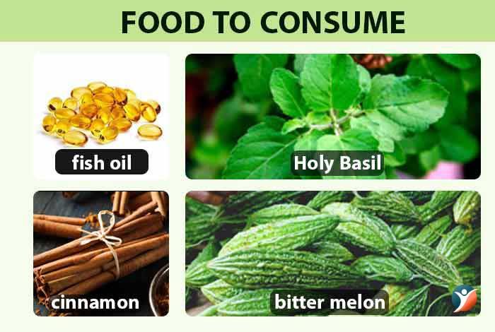foods to consume in diabetes mellitus