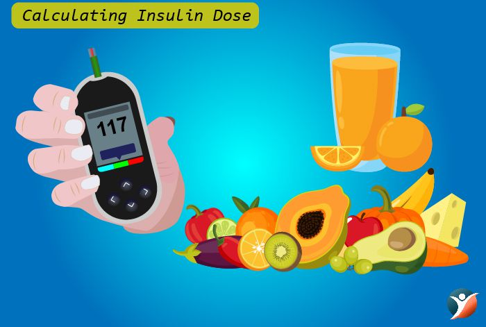 Calculating insulin dose