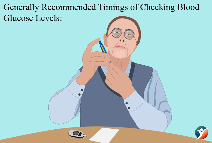 when to check blood glucose level