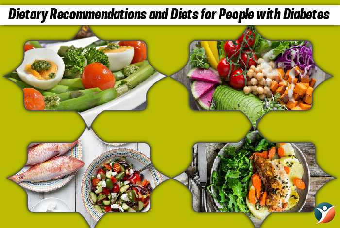 Dietary Recommendations and Diets for People with Diabetes:
