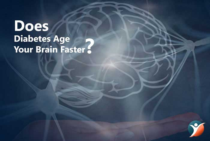 does diabetes age your brain faster?
