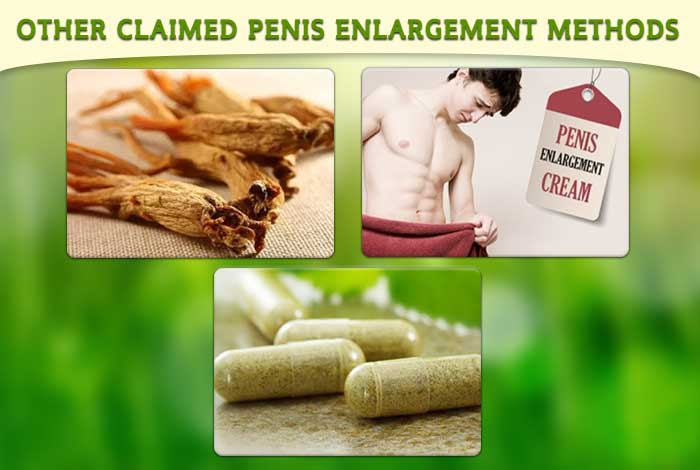 other claimed penis enlargement methods