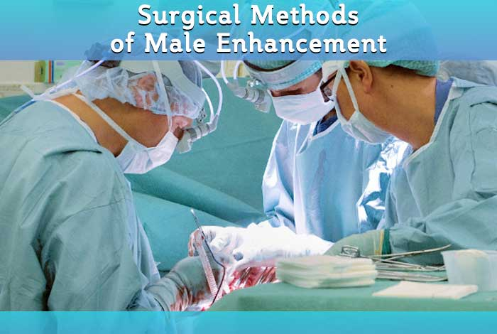 surgical methods of male enhancement
