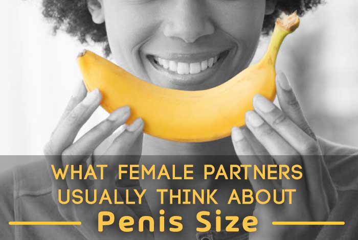 what female partners usually think about penis size