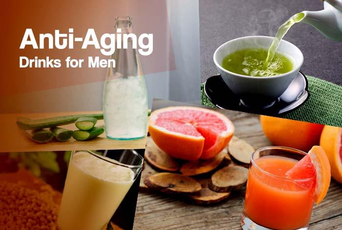 anti aging drinks for men