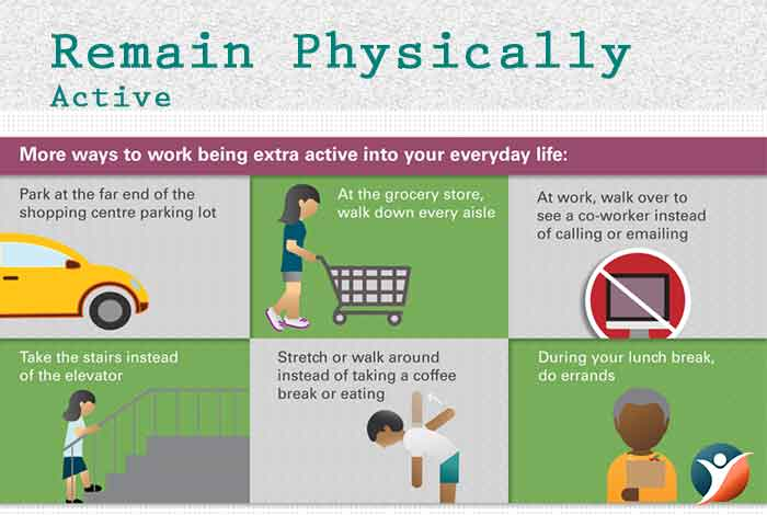 Remain Physically Active