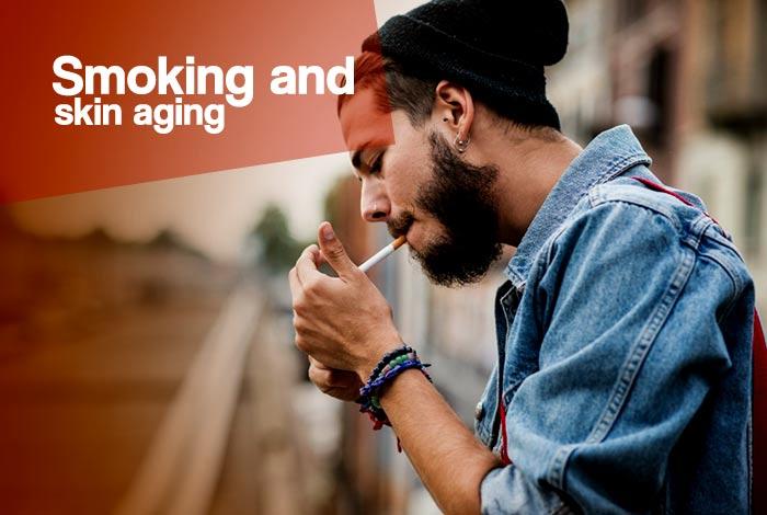smoking and skin aging in men