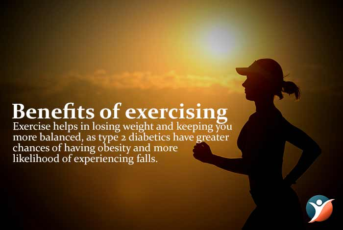 benefits of exercising to control diabetes
