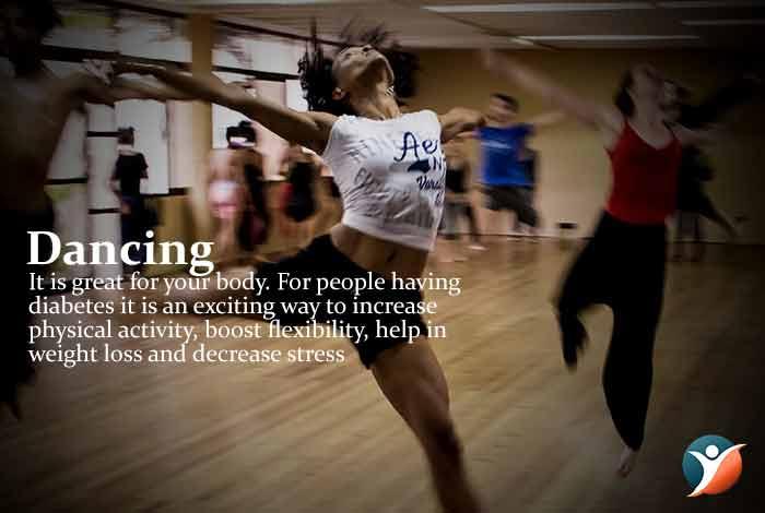 dancing to control diabetes
