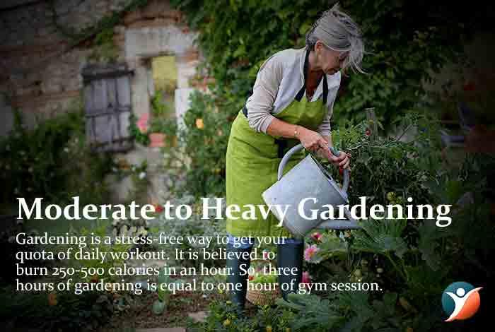 Gardening to control diabetes