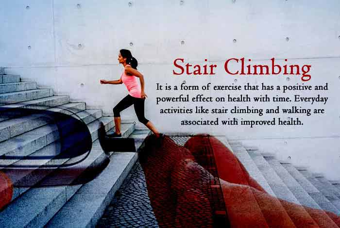 stair climbing to control diabetes