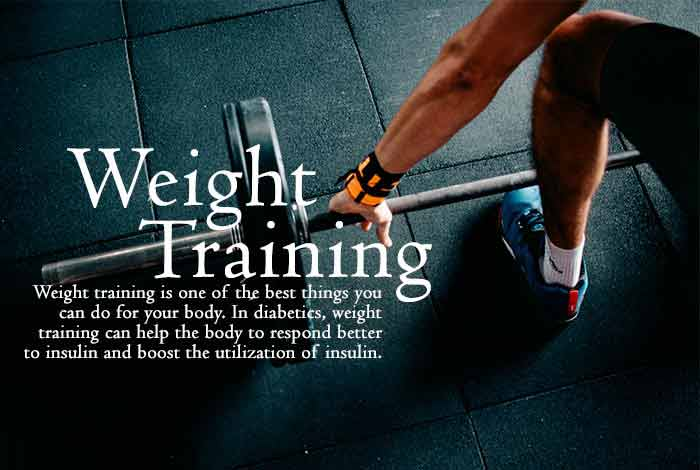 weight training to manage diabetes