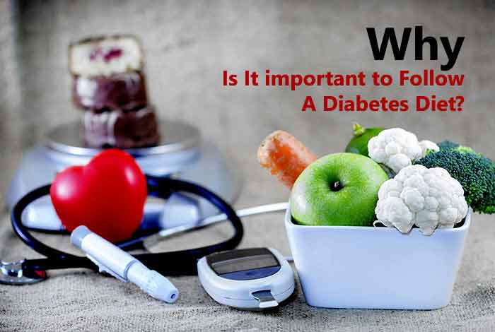 why to follow a diet during diabetes
