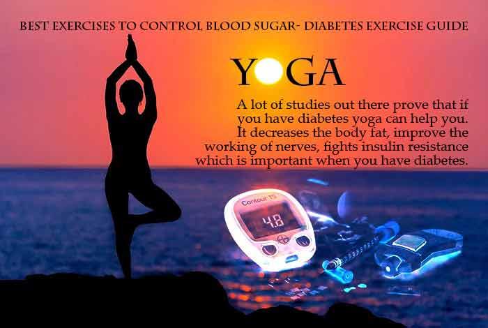 practice yoga to manage diabetes