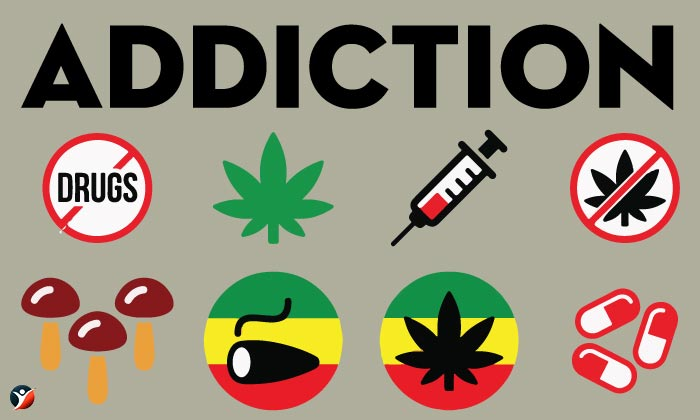 difference between drug abuse and addiction