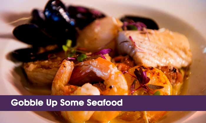 Gobble Up Some Seafood