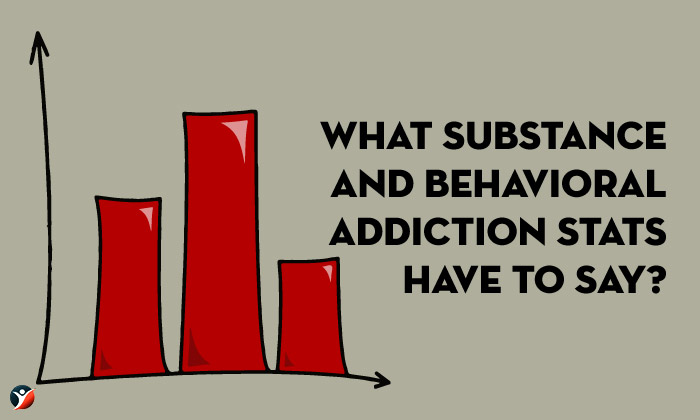 substance and behavioral addiction stats