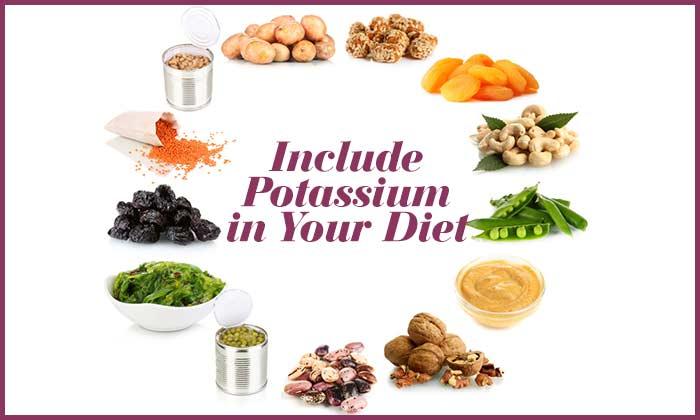 Include Potassium in Your Diet
