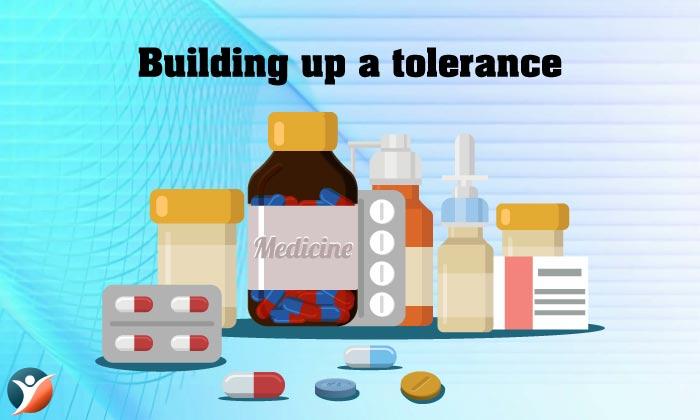 Building up a tolerance